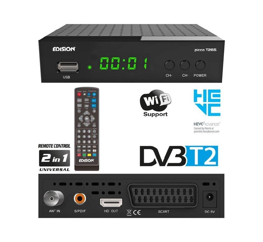 Edision Picco T265 - DVB-T2 H.265 HEVC
