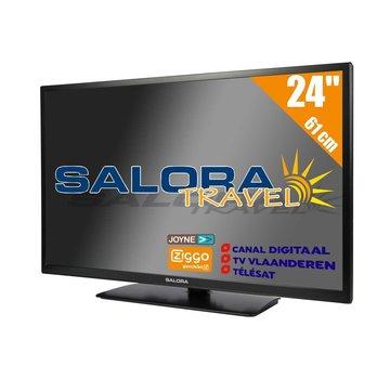 """Salora Salora 24"""" Travel - 2021 - TV DVB-S2/C/T2 - 12/230V"""