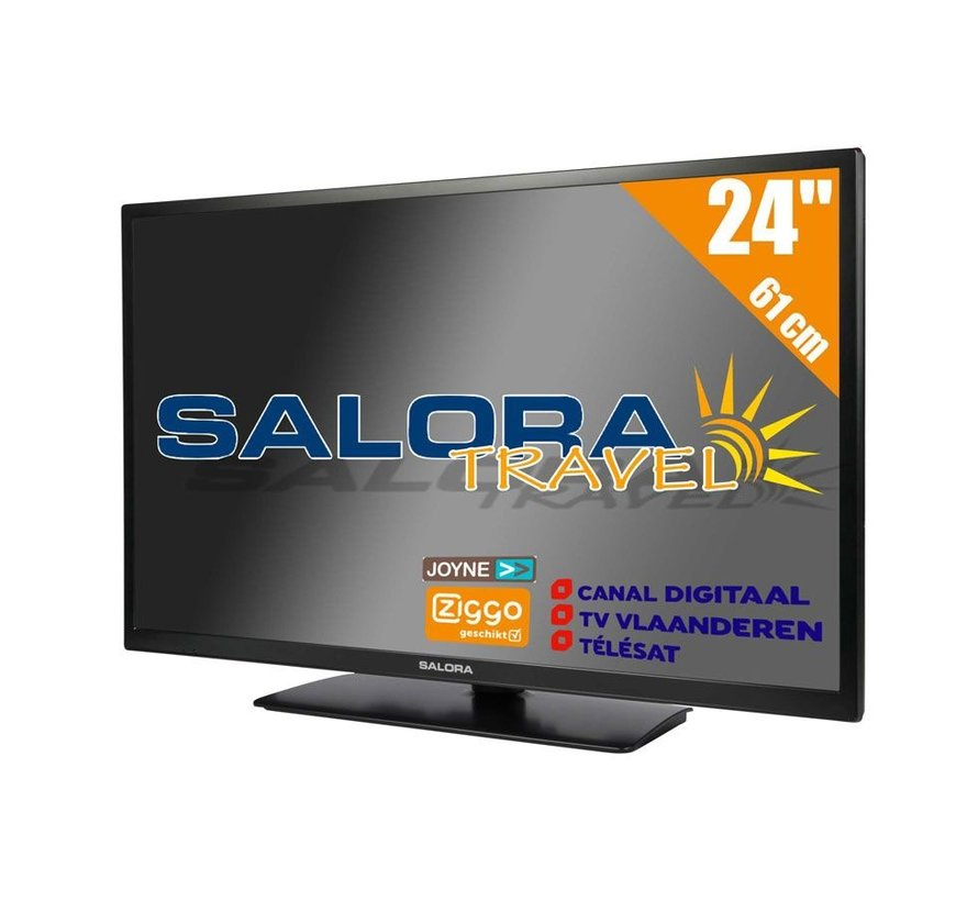 """Salora 24"""" Travel TV DVB-S2/C/T2 - 12/230V"""
