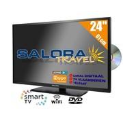 "Salora Salora 24"" Travel TV CI DVB-S2/C/T2 12/230V SMART/DVD/WIFI"