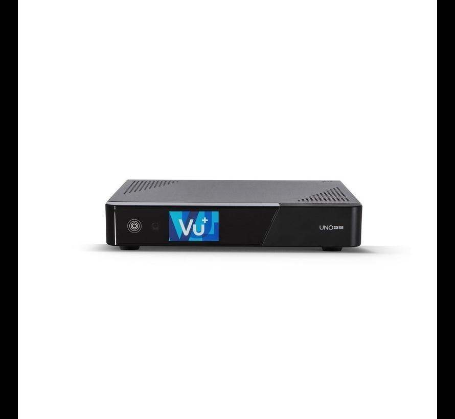 VU+ Uno 4K SE DVB FBC Twin Tuner Linux Receiver 2160p