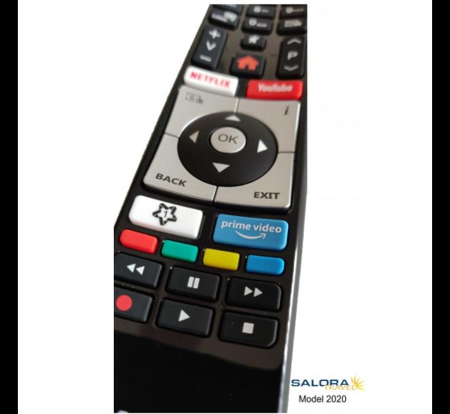 "Salora 22"" Travel TV CI DVB-S2/C/T2 12/230V SMART/DVD/WIFI"