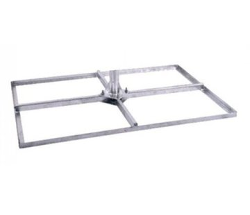 Bente tegelvoet 4x40x60 frame badverzinkt zonder mast