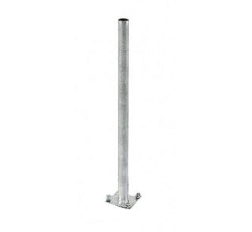 Bente mast 75cm lang met 42mm diameter voor tegelvoet