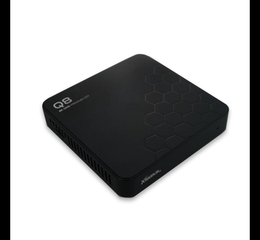 Xsarius Q8 versie 2 - 4K UHD - Premium OTT Media Streamer - Android 8.0 Oreo