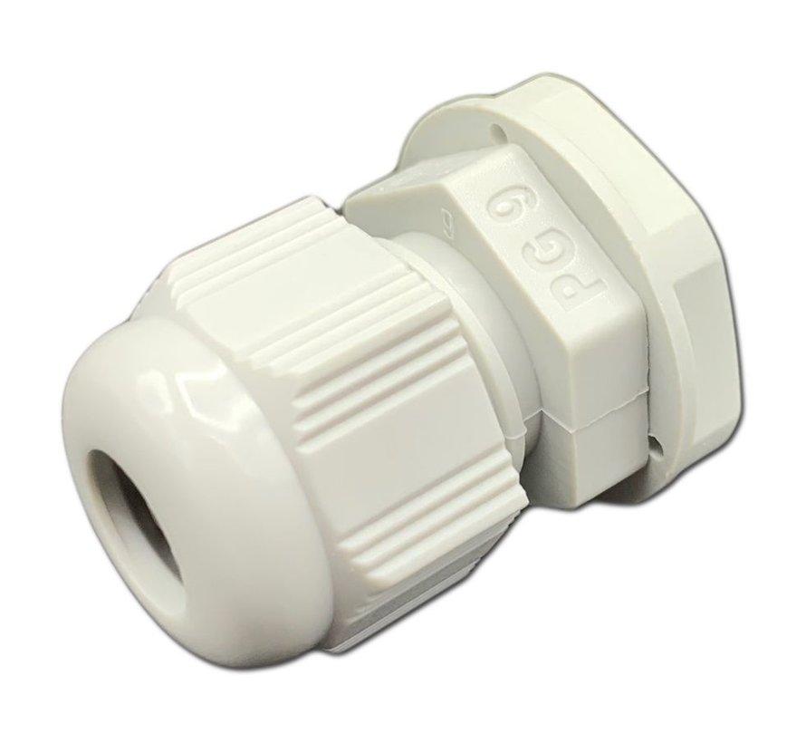 NDS PG9 witte wartel 4 tot en met 8mm