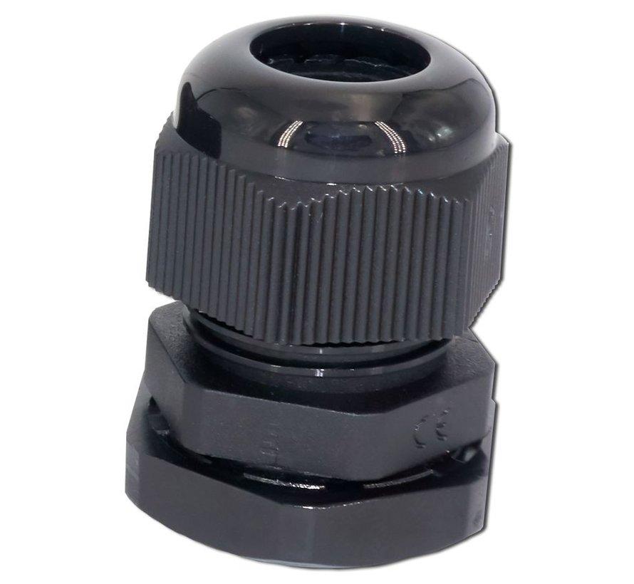 NDS PG13-B zwarte wartel 7 tot en met 12mm