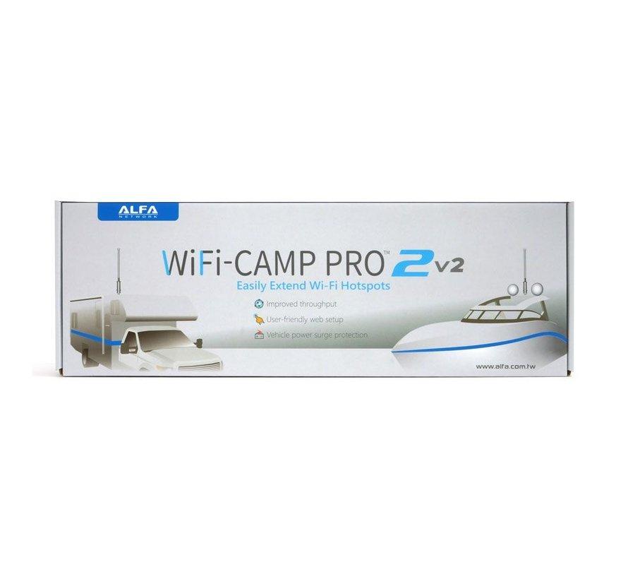 Alfa Network WiFi-Camp Pro2v2 Set Tube UNA Antenne + R36A