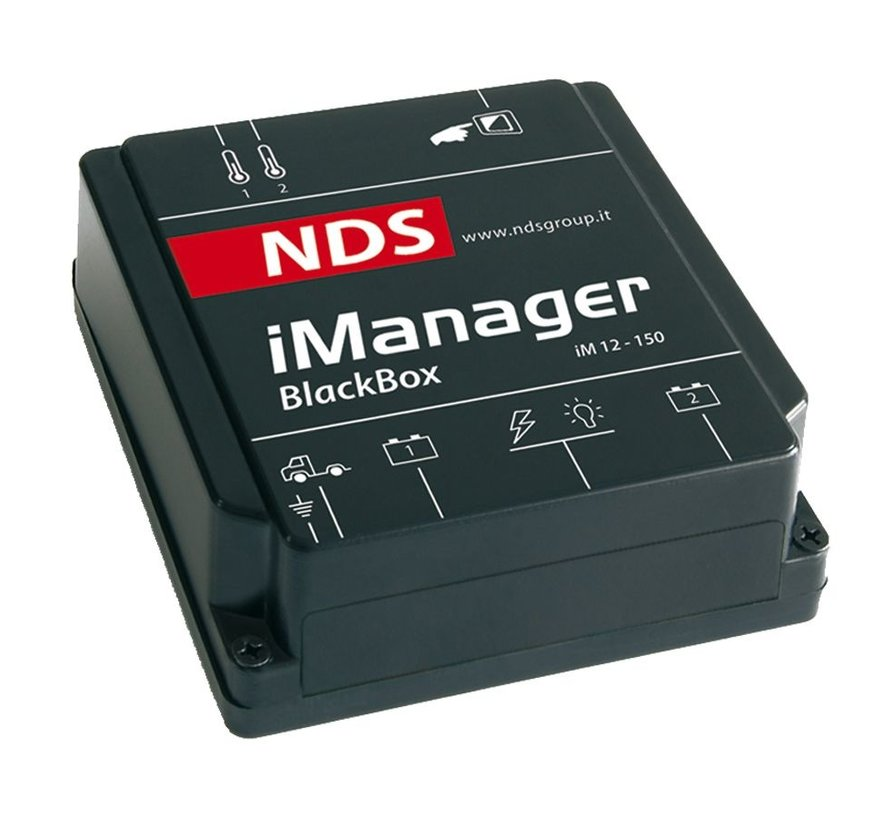 NDS iManager met Touchscreen bedraad (Wired Data)