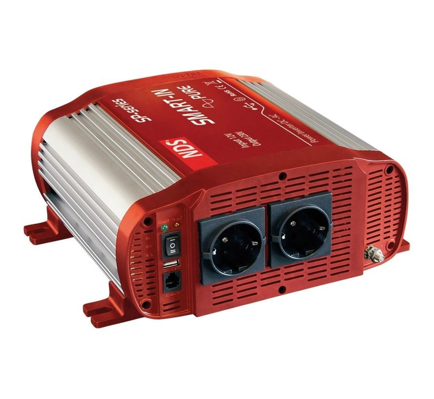 NDS Smart-in-Pure 12V omvormer 1500W