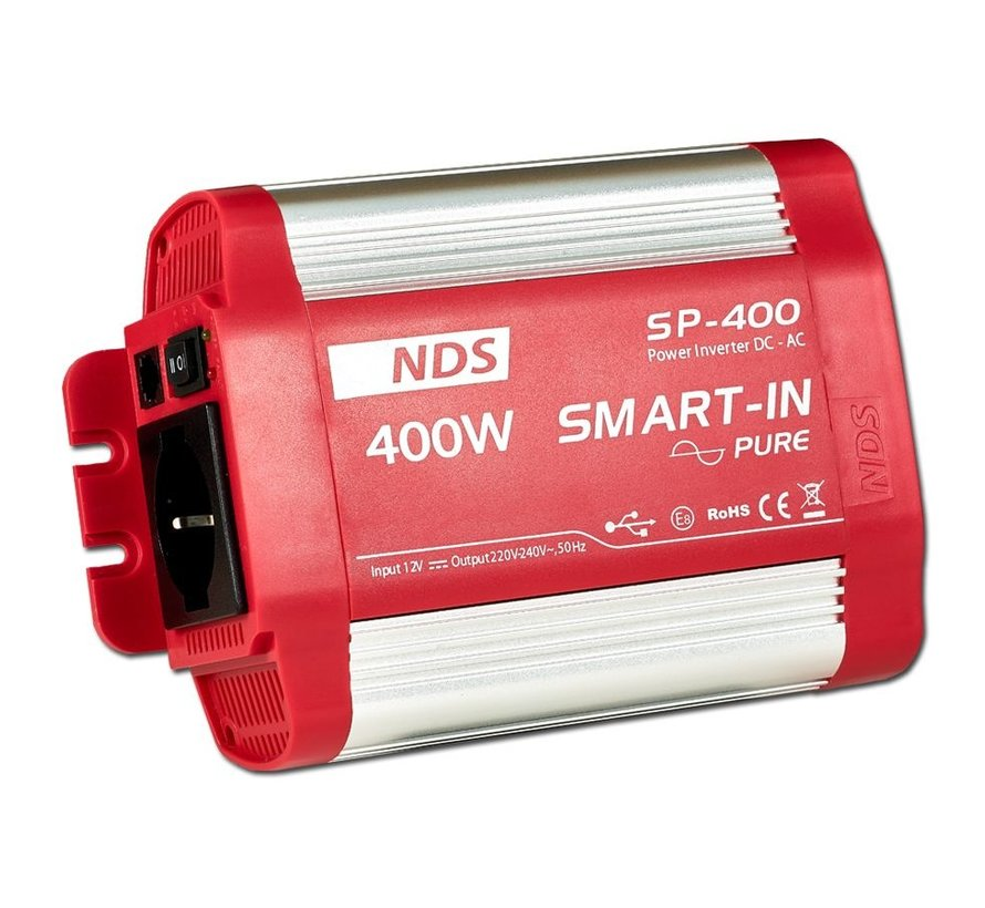 NDS Smart-in-Pure 12V omvormer 400W