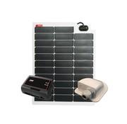 NDS NDS Solarflex EVO 50W Flex Zonnepaneel Set + SC350M KPE50WP