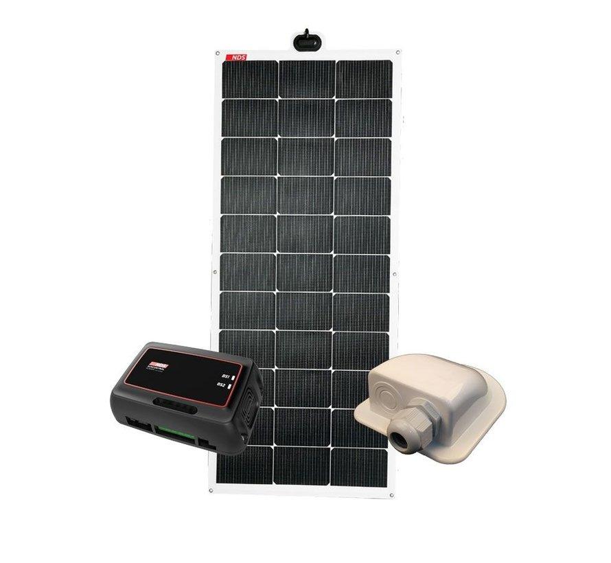 NDS Solarflex EVO 110W Flex Zonnepaneel Set +SC350M KPE110WP