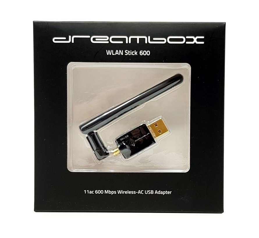 Dreambox WLAN USB Adapter 600 Mbps incl. antenne