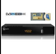 Tivusat Telesystem TS4502 - set TivuSat CI module en kaart