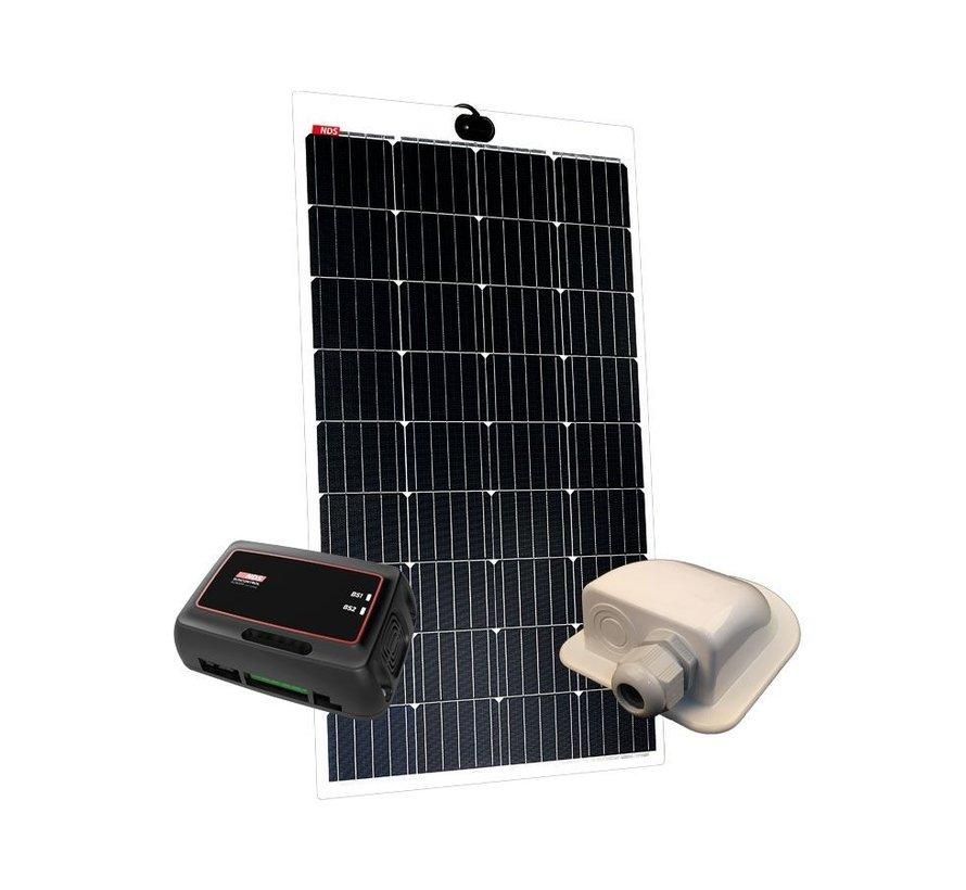 NDS Lightsolar 145W semi-flex zonnepaneel SET + SC350M