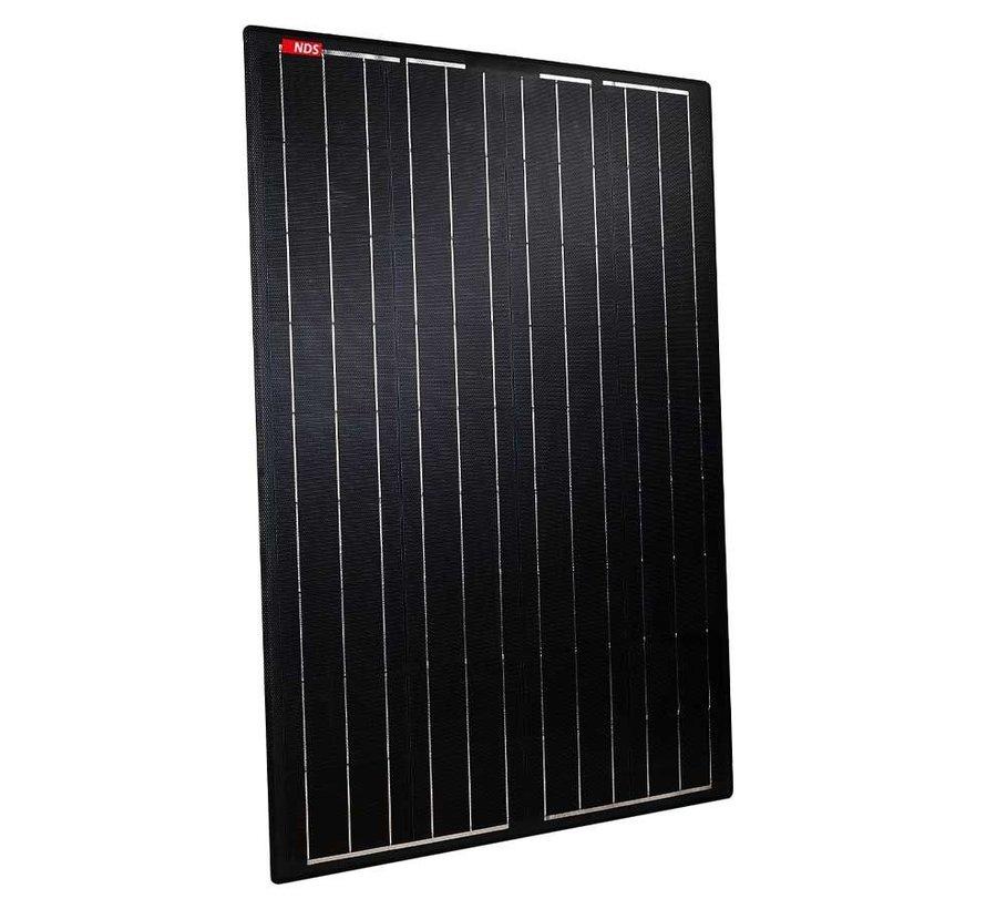 NDS Lightsolar 180W semi-flex Black zonnepaneel SET + SC320M