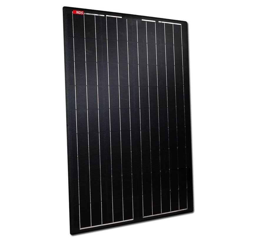 NDS Lightsolar 105W semi-flex Black zonnepaneel