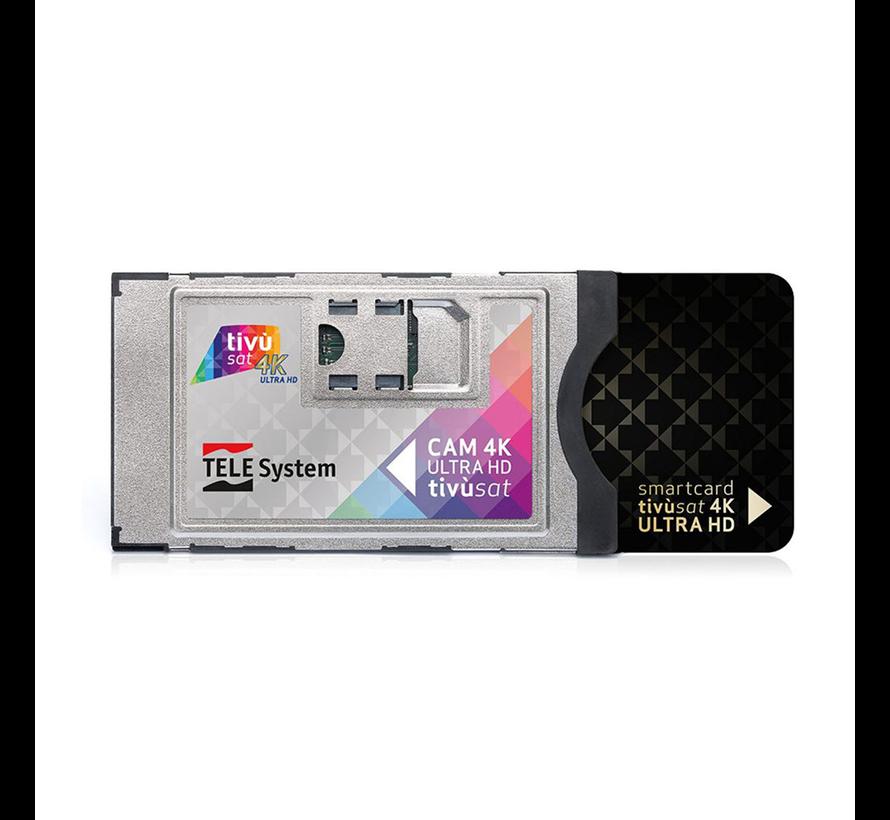 Tivusat UHD 4K module met TivuSat smartcard
