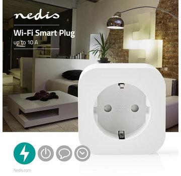 Nedis Wi-Fi smart plug | Schuko Type F | 10 A