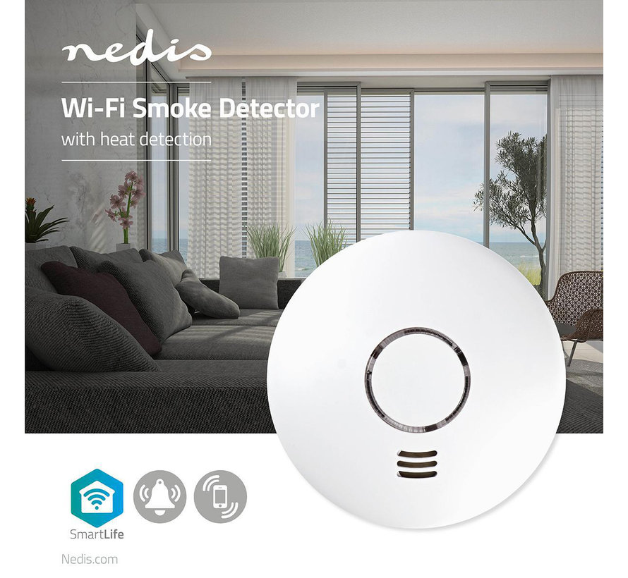 Smart Rookmelder | Wi-Fi