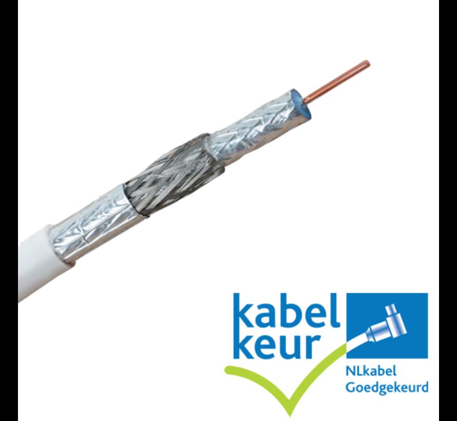 Coaxkabel maatwerk met gemonteerde connectoren
