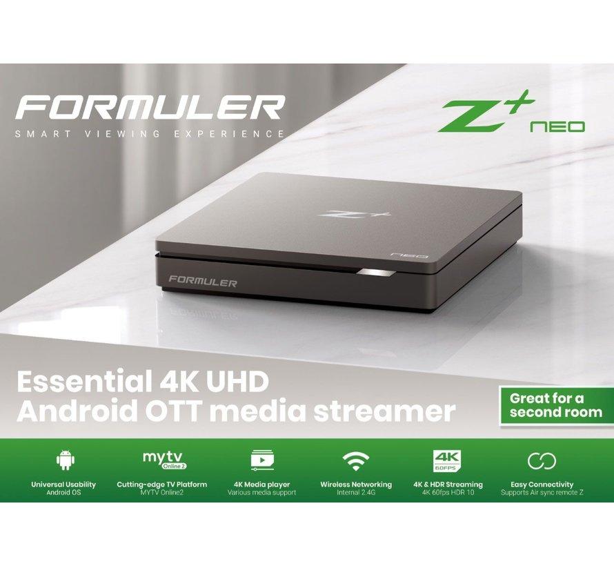 Formuler Z Neo IPTV Mediaspeler 4K UHD