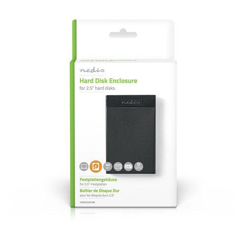 """Nedis Nedis 2.5"""" SATA harde schijf-behuizing USB 3.1"""