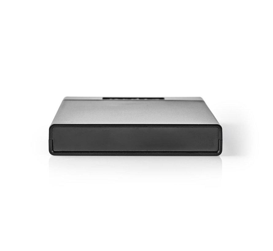 "Nedis 2.5"" SATA harde schijf-behuizing USB 3.1"
