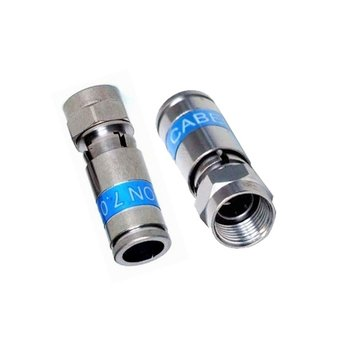 Cabelcon Cabelcon F-56-CX3 7.0 QM Quickmount f-connector voor 7 mm kabel