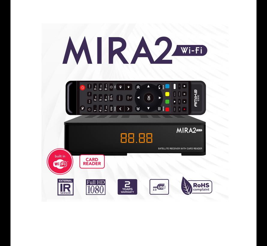 Amiko Mira 2 - WiFi- full HD - satellietontvanger