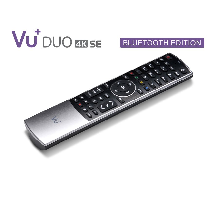 VU+ Duo 4K SE (second edition) bluetooth editie