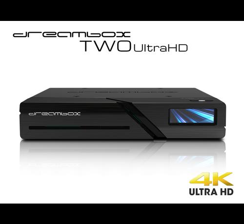Dream Multimedia Dreambox Two Ultra HD BT 2x DVB-S2X MIS Tuner 4K 2160p E2 Linux Dual Wifi H.265 HEVC