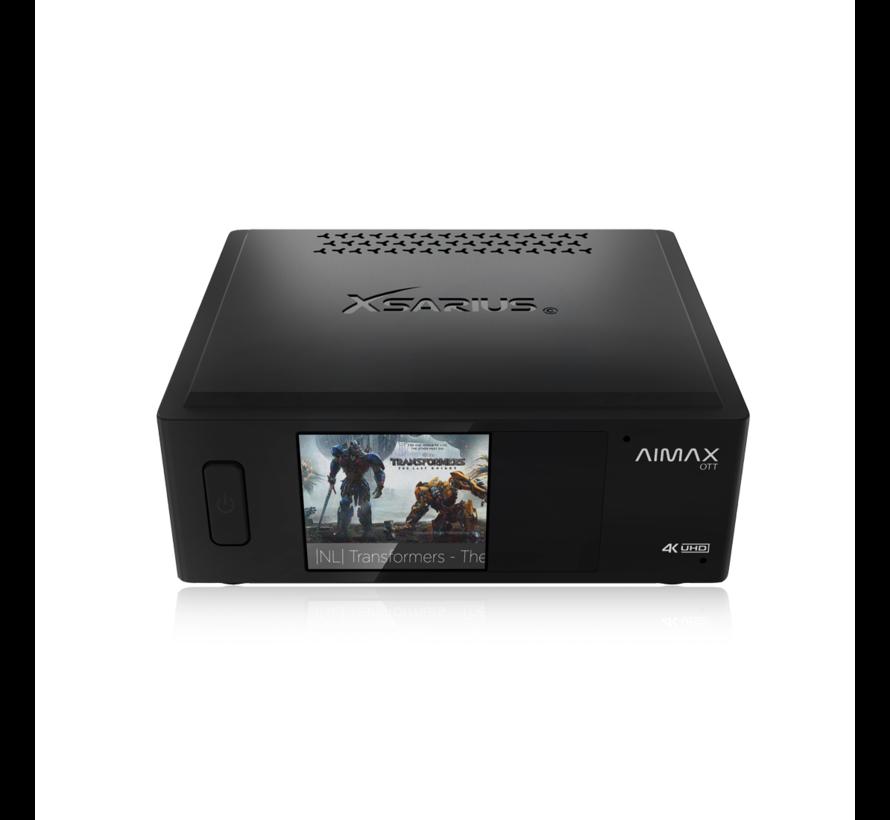 Xsarius Aimax OTT - 4K UHD - AndroidTV - 2 build-in-microphones