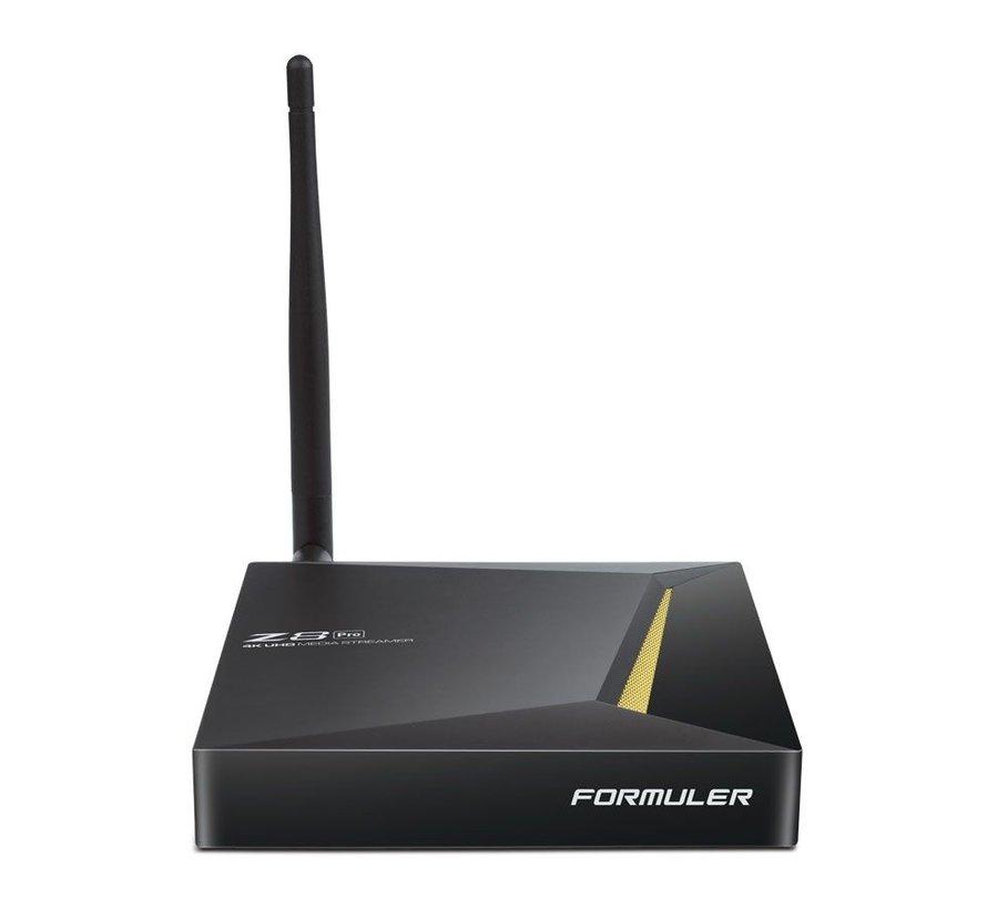 Formuler Z8 Pro IPTV Mediaspeler 4K UHD + IRL Remote