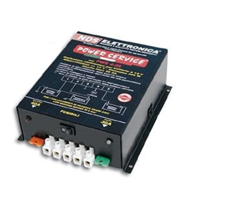 NDS powerservice BASIC DC-DC acculader 35Ah