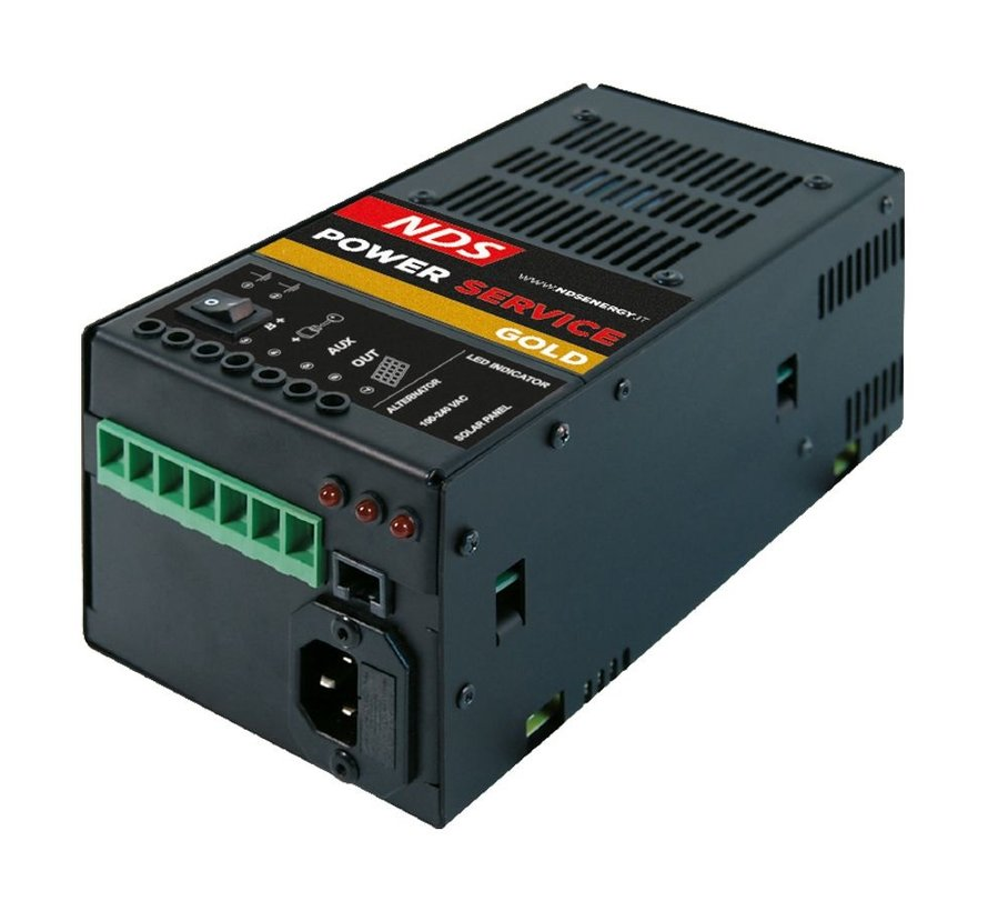 NDS powerservice GOLD DC-DC acculader 40Ah
