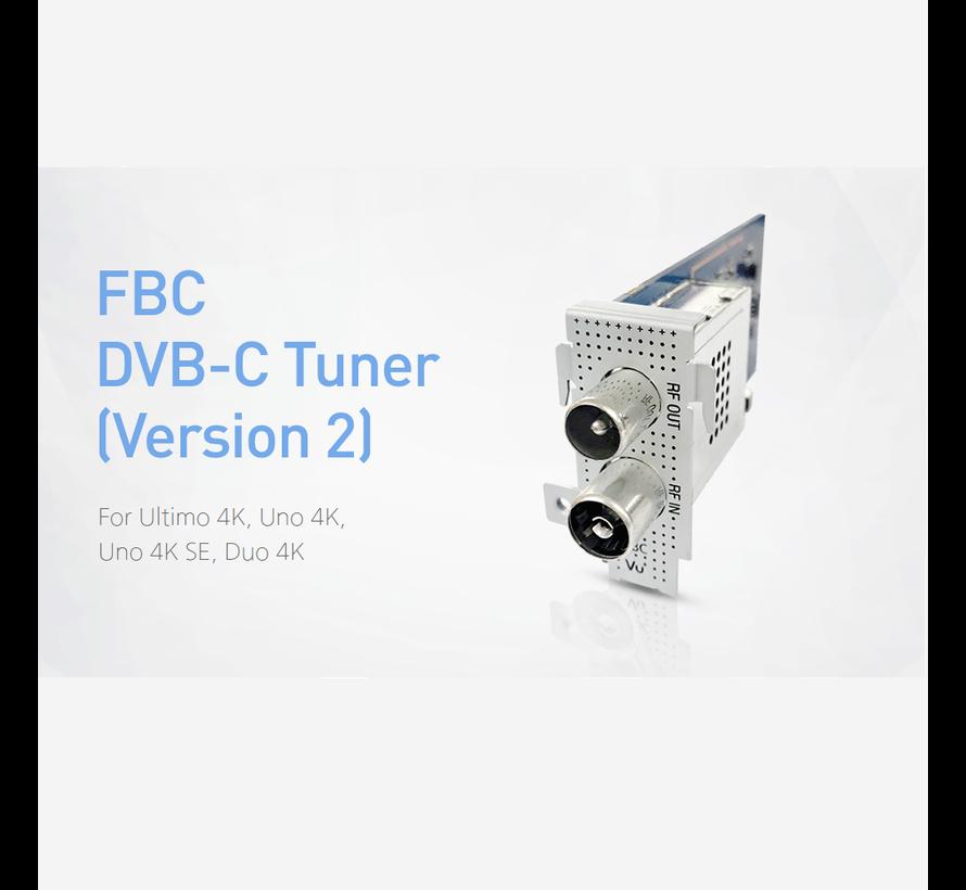 VU+ FBC DVB-C tuner versie 2