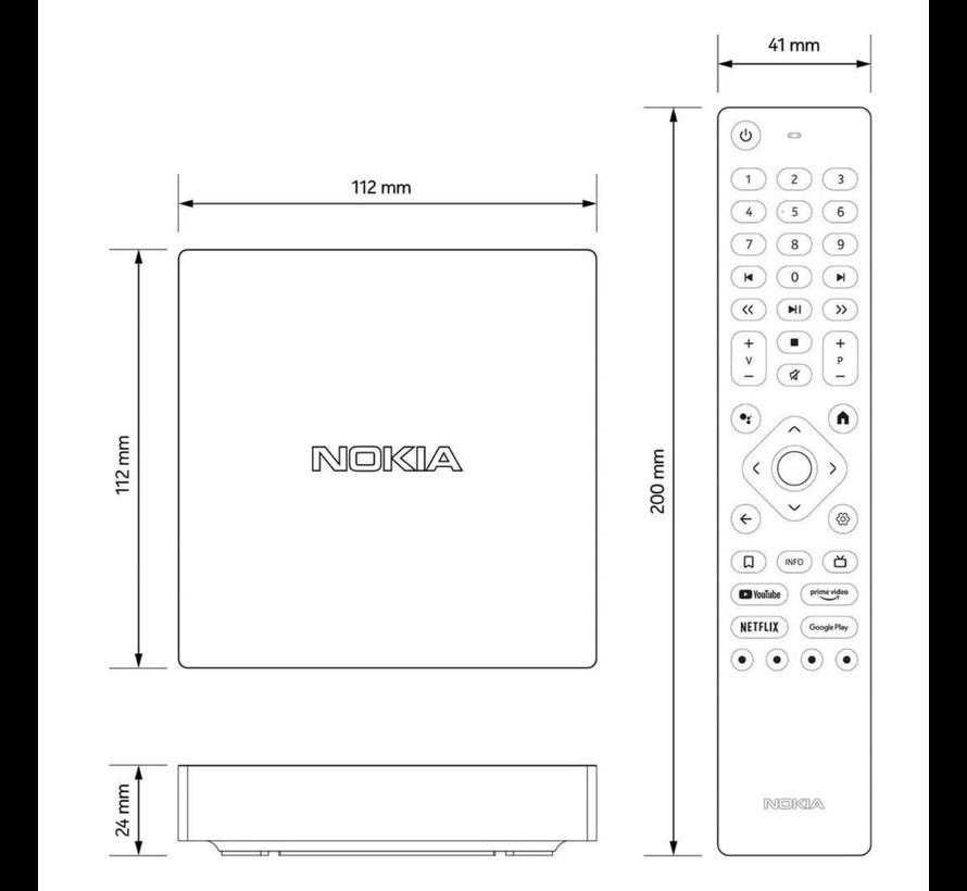 Nokia - streaming box 8000 - 4K Ultra HD - Android - TV Box
