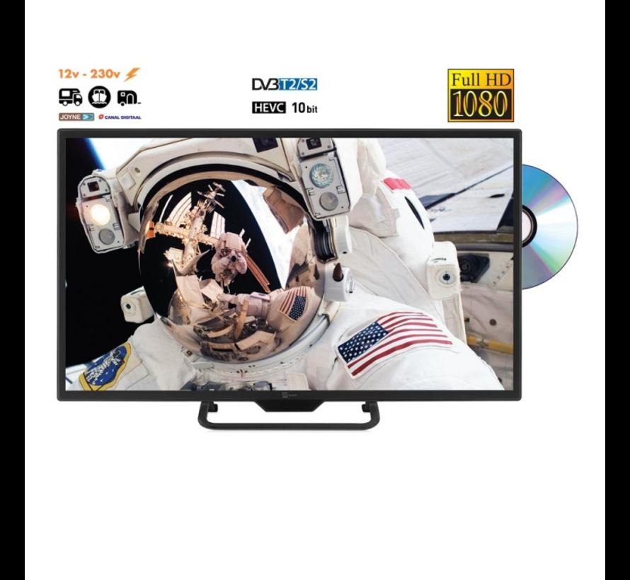 TeleSystem Palco22LED09c + DVD 12/230V S2/T2