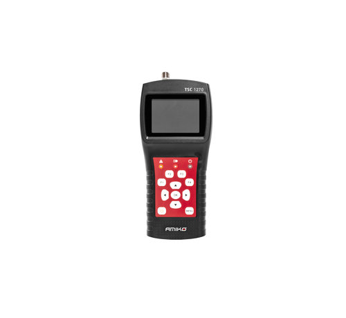 Amiko Amiko TSC 1270 signaalmeter DVBS/DVBS2/DVBT/DVBT2/DVBC/DVBC2/ATV