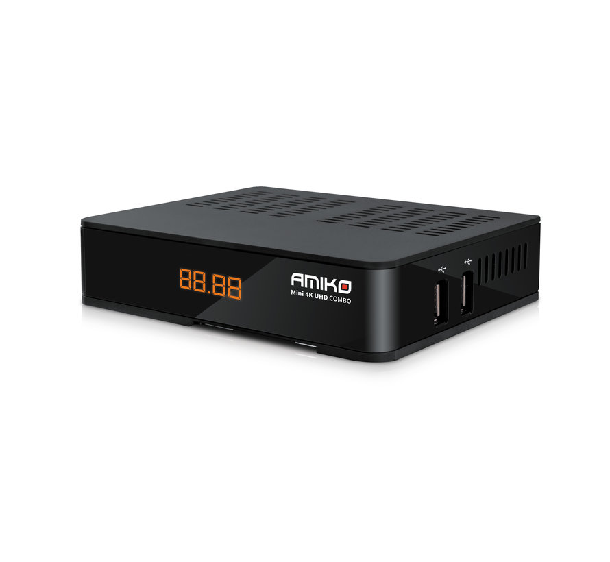 Amiko Mini 4K UHD combo - S2X - T2C