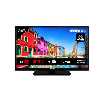 """Nikkei Nikkei NL24M SMART 24"""" 12V LED HDR DVB-S2/C/T2 CI+"""