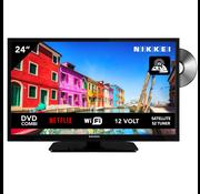 """Nikkei Nikkei NLD24M SMART 24"""" DVD 12V LED HDR DVB-S2/C/T2 CI+"""