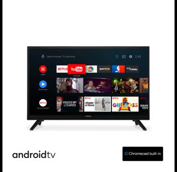 Hitachi 24HE2202 - 24 inch - Android Smart TV - 12V - met Chromecast ingebouwd