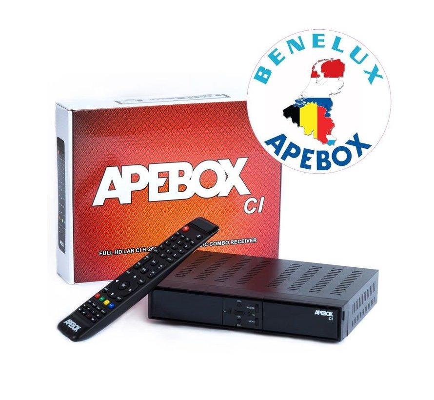 APEBOX CI BNL S2+C/T2 SC/CI USB PVR 12V