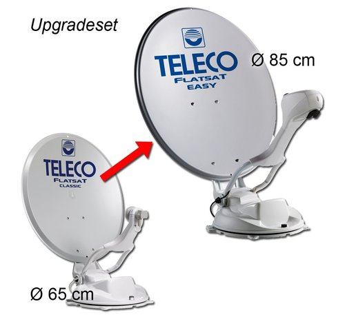 Teleco Teleco Upgrade/Transformatie Set CLASSIC 65cm Naar EASY 85cm