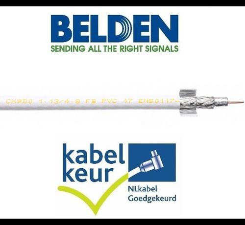 Belden Belden CX9D0 Coax 9 DuoBond+ PVC Kabelkeur wit per meter