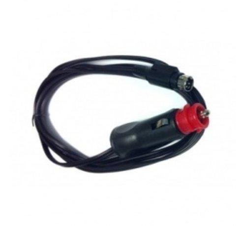 Salora Salora 12 volt plug 2 polig voor Salora LED TVs, Nikkei , Finlux en Akai (4-polig)