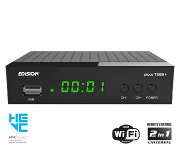 Edision Edision Picco T265+ DVB-T2C H.265 HEVC